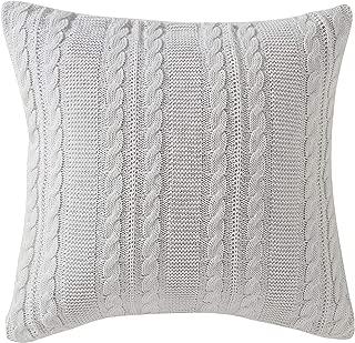 VCNY Home Dublin Euro Pillow Sham, 26x26, White