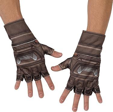 Rubie's Costume Co Men's Avengers 2 Age Of Ultron Adult Captain America Gloves