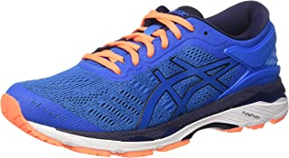 Asics GEL-Kayano 24 Men's Running Shoes, Blue/Navy, AU7