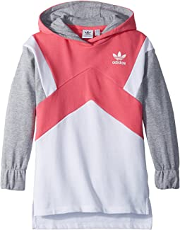 adidas Originals Kids - Modern French Terry Hoodie (Little Kids/Big Kids)