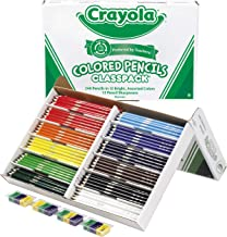 Crayola 240 Colored Pencil Classpack (12 Colors)
