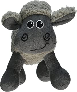 All for Paws  Assorted Animals Lamb Cuddle Toy for Dogs, 7-Inch