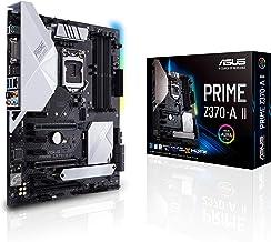 ASUS Prime Z370-A II LGA1151 (Intel 8th and 9th Gen) ATX DDR4 DP HDMI DVI M.2 USB 3.1 Gigabit LAN