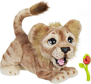 Hasbro Disney The Lion King Mighty Roar Simba Interactive Plush Toy