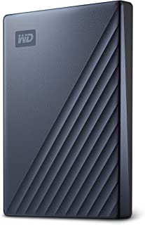 WD 2TB My Passport Ultra Blue Portable External Hard Drive, USB-C - WDBC3C0020BBL-WESN