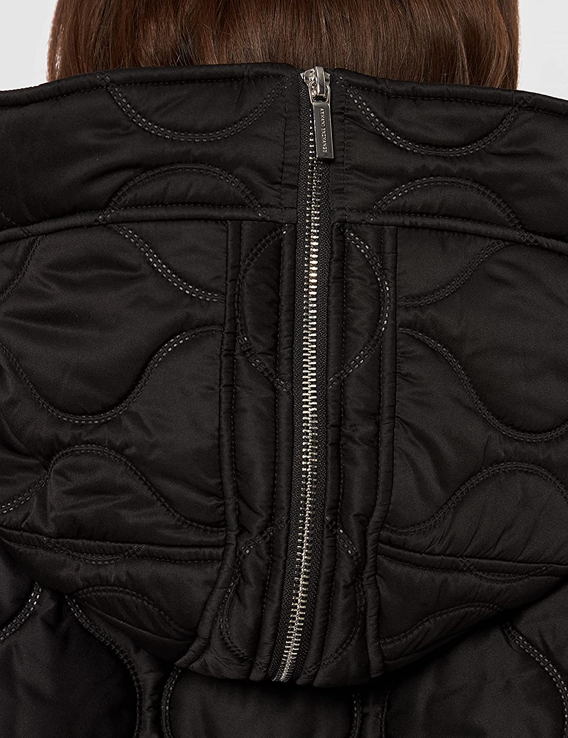 AX Armani Exchange Women's Drawstring Thermo Quilted Jacket