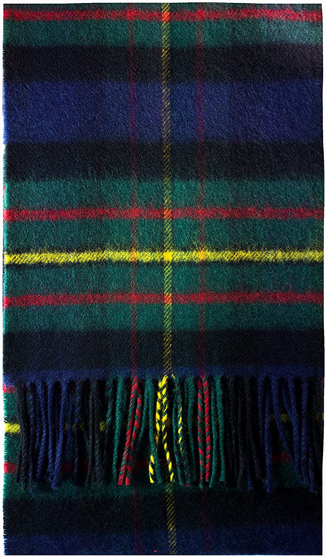 trust MacLaren Inventory cleanup selling sale Modern Tartan Luxury Scarf Brushwool