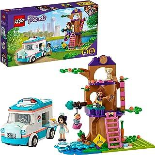 LEGO41445FriendsL'AmbulancedelaCliniqueVétérinaireSetdeJeudeSauvetaged'animauxavecLesMinidollsOliviaetEmma