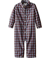 Ralph Lauren Baby - Poplin Kensington One-Piece Coveralls (Infant)