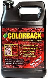 COLORBACK 12,800 Sq. Ft. Mulch Color Concentrate, 1-Gallon, Red