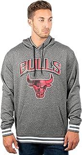 Ultra Game NBA Men's Focused Pullover Fleece Hoodie Sweatshirt