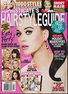 SOPHISTICATE`S HAIRSTYLE GUDE MAGAZINE FEBRUARY 2014 *KATY PERRY/MILEY CYRUS*SOPHISTICATE`S HAIR STYLE GUDE MAGAZINE FEBRU...