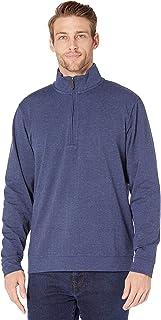 Men's Herringbone Quarter Zip Pullover