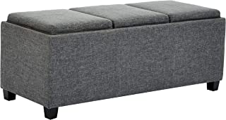 Best blue ottoman tray Reviews