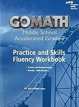 Go Math!: Practice Fluency Workbook Accelerated 7