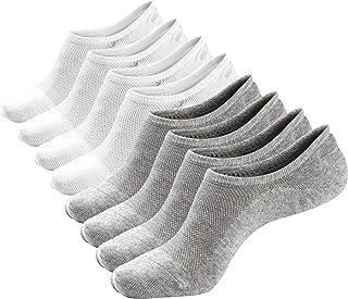 No Show Socks Low Cut Ankle Socks 6-8 Packs Casual Cotton Socks for Men & Women