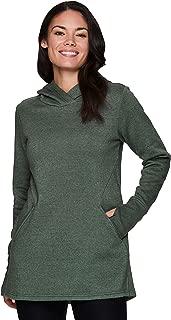 Active Women's Long Sleeve Fashion Fleece Tunic Pullover Sweatshirt