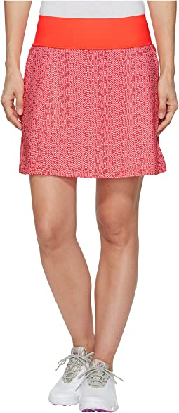 PWRSHAPE Polka Dot Knit Skirt