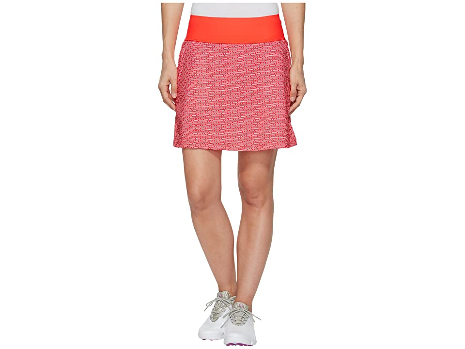 PUMA Golf PWRSHAPE Polka Dot Knit Skirt (Bright Plasma) Women