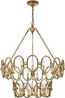 Best gold leaf chandelier Reviews