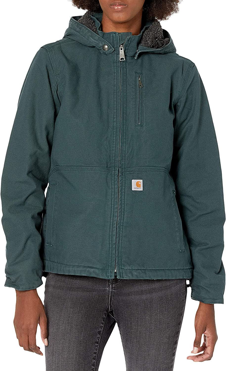 Carhartt Women's Full Swing Caldwell and Plus 2021 spring summer Animer and price revision new Jacket Regular Si