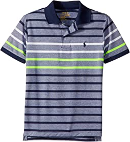 Polo Ralph Lauren Kids - Performance Stretch Lisle Polo (Big Kids)
