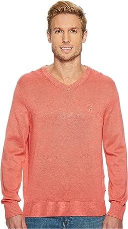 Nautica - 12 Gauge Basic V-Neck Sweater