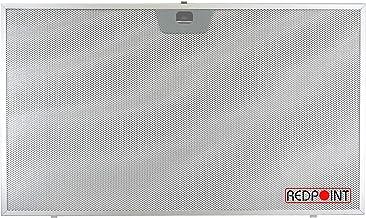 Filtro de aluminio para campanas Faber, Franke, Ikea 506 x