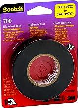 Scotch 700 Electrical Tape, 03429NA, 3/4 in x 66 ft