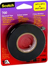 Scotch 700 Electrical Tape, 03429NA, 3/4 in x 66 ft