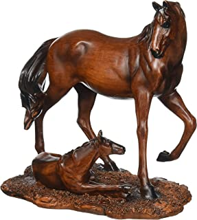 Koehler Home Decorative Accent Mother & Foal Horse Statue