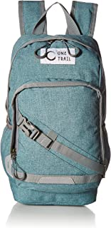 """OneTrail Mini Me 10 Liter Daypack (Teal)   Small Daypack Fits Children and Adults   For Men, Women, Children   Fits 11"""" Laptop   Water Resistant, Tweed Inspired Fabric"""