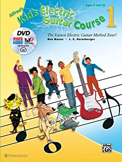 Alfred's Kid's Electric Guitar Course 1: The Easiest Electric Guitar Method Ever!, Book, DVD & Online Video/Audio/Software (Kid's Guitar Course)