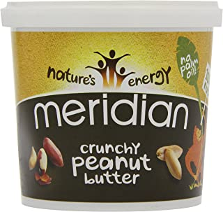 comprar comparacion Meridian Natural Crunchy Peanut Butter - No added sugar and no added salt - 1kg