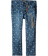 Lucky Brand Kids - Printed Zoe Jeans in Dark Indigo (Toddler)