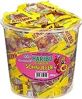 Haribo Kinder Schnuller 100Minibeutel, 1er Pack (1 x 980 g Dose)