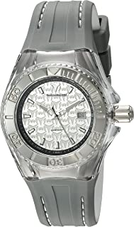 Technomarine Women's 'Cruise' Swiss Quartz Stainless Steel and Silicone Watch, Color:Two Tone (Model: TM-115157)