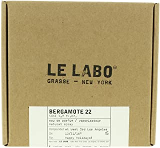 Le Labo Bergamote 22 Eau De Parfum 1.7oz/50ml Spray New In Box