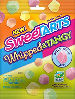 SweeTARTS Whipped & Tangy Candy, 4.5 Ounce Bag, 12 Count