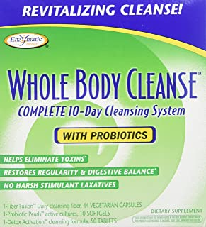 Enzymatic Therapy Whole Body Cleanse Kit with Probiotics 1 Kit