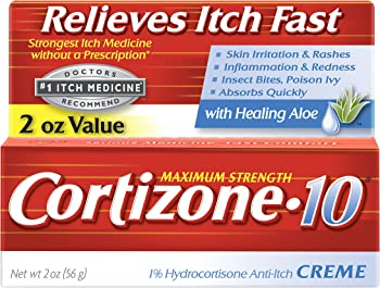 2-Count Cortizone-10 Maximum Strength Anti-Itch Creme 2 Oz
