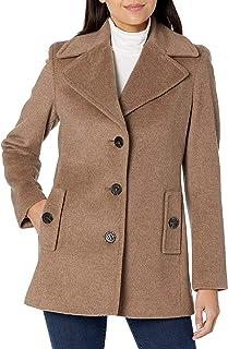 Women's Single Breated Wool Coat