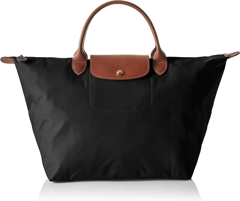 5 ☆ very popular Longchamp Women's Le Pliage Medium Miami Mall Handbag Black