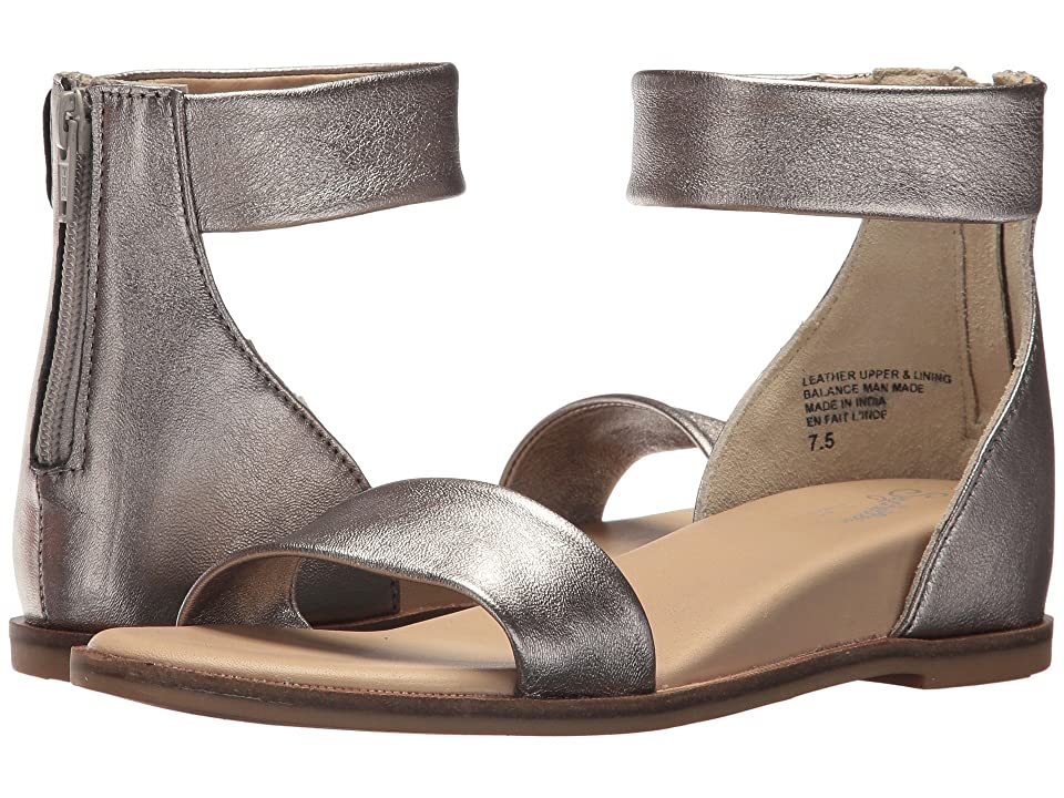 Seychelles Lofty (Pewter Leather) Women's Sandals