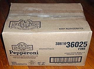 Margherita Brand Premium VERY BEST Pizza Pepperoni Sticks (1 CASE 10 LBS)