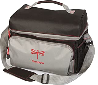 Tombow 56177 Storage Tote, Black and Grey. Perfectly Stores All of Your Tombow Arts and Crafts Supplies