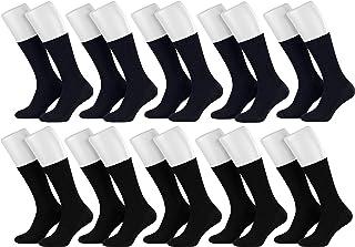 10 Pares de Calcetines de Algodon de Salud Diabetica sin Goma para las Mujer y los Hombre