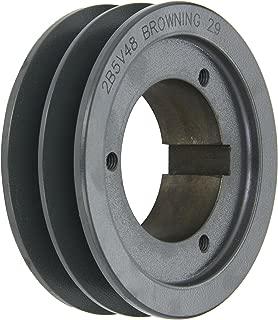4 Groove Browning 43V600SK Q-D Sheave Cast Iron Uses SK Bushing 3V Belt
