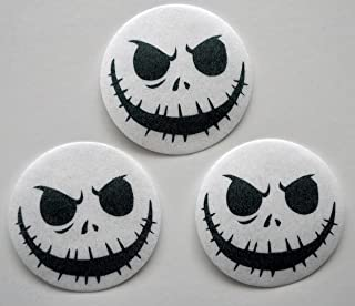 Skeleton Edible Wafer Paper Oreo Cake Pop Toppers by MAKCreationsCakeSupply ~ 30 Pre Cut Wafer Paper 1 1/2