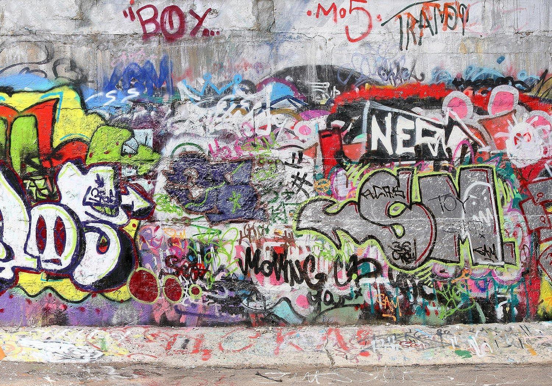 Wandmotiv24 Fototapete Graffiti 3 M0027 XL 350 x 245 245 245 cm - 7 Teile Wandbild - Motivtapete B01DW5GCN8 95e68a